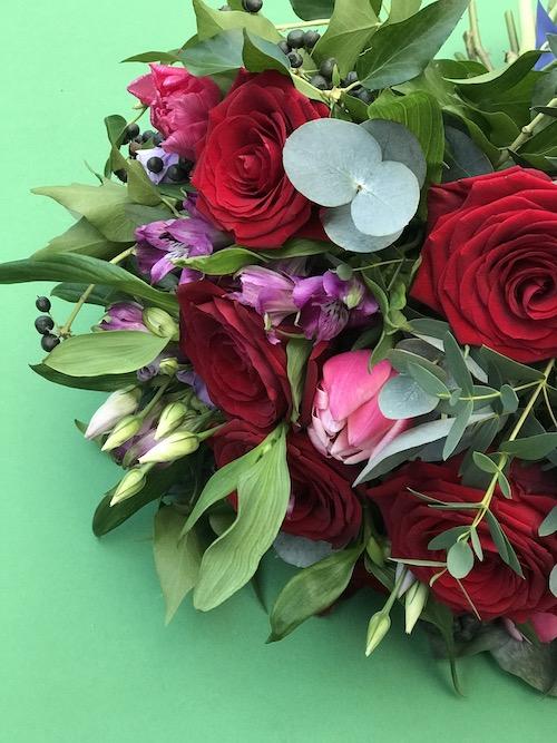 Valentine's Dozen Roses