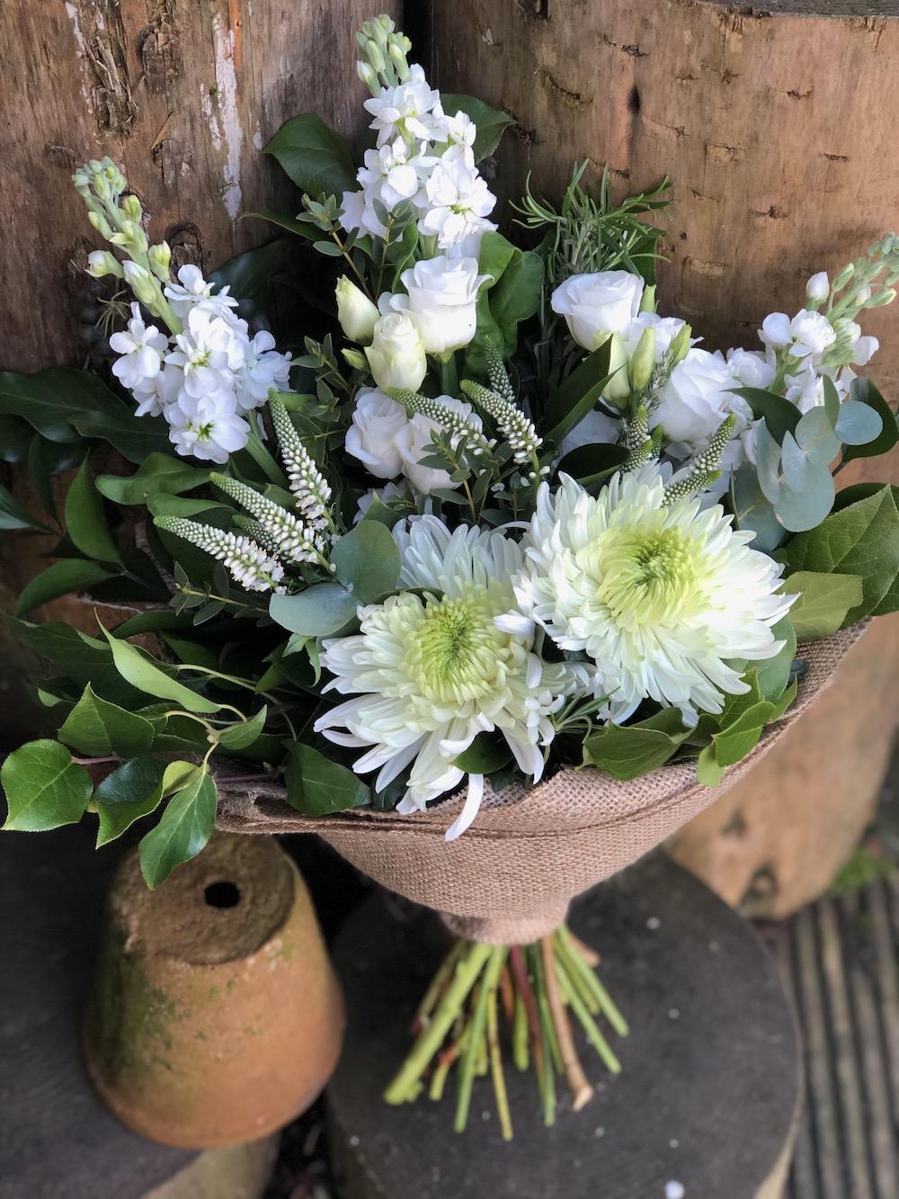 Brown Box Flowers